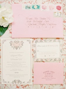 Сватбени покани - протокол и етикет!