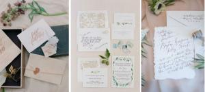 Калиграфия като сватбена тенденция за 2015-та
