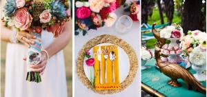 Екзотични мотиви в сватбената украса