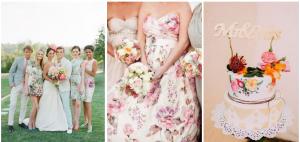 Флорални мотиви в сватбената украса