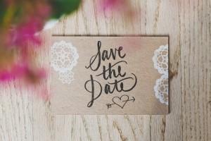 Пътеводител на съвременната сватба - Save the date