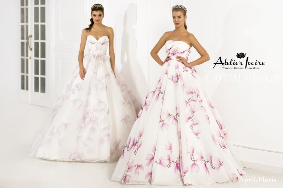 """Булчинска рокля, модел """"April"""" от последната колекция на Atelier Ivoire - Be Special"""